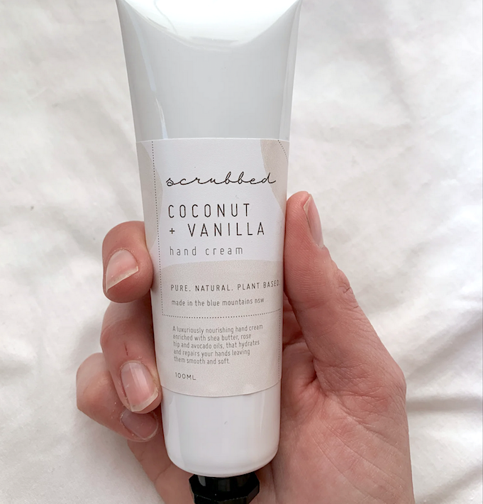 Coconut & Vanilla Hand Cream