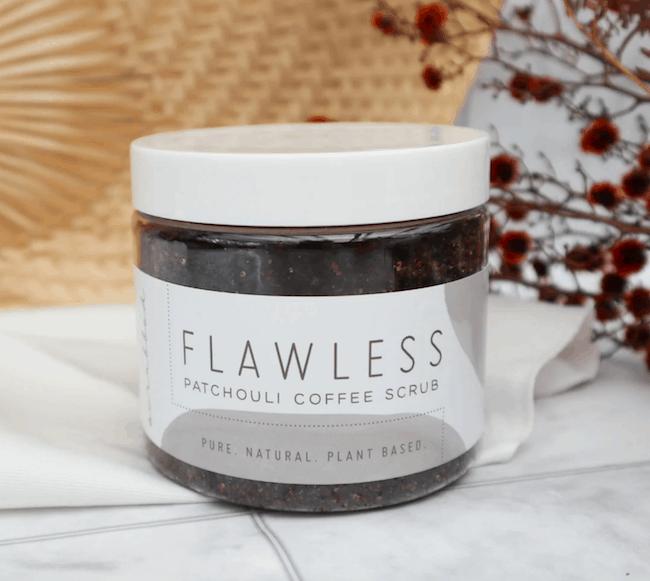 Flawless Patchouli Coffee Scrub