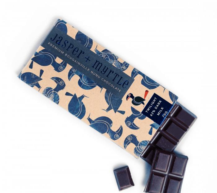 Bougainville Nunu Twilight Chocolate Bar